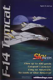 Sky Racers F-14 Tomcat (Aircraft Model, Explore the Science of Flight),AG WhiteWings