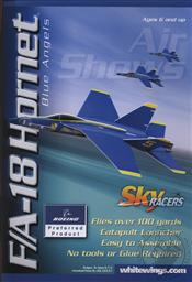 Sky Racers F/A-18 Hornet (Aircraft Model, Explore the Science of Flight),AG WhiteWings