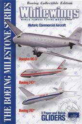 Whitewings Boeing Historic Commercial Aircraft, 3 Model Kit (Aircraft Model, Explore the Science of Flight),AG WhiteWings