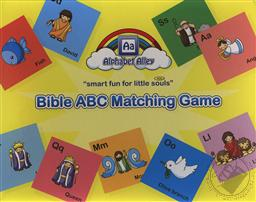 Bible ABC Matching Game (Toddler and Preschool Activities),Alphabet Alley