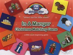 In a Manger Matching Game (Toddler and Preschool Activities),Alphabet Alley