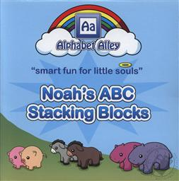 Noah's ABC Stacking Blocks (Toddler and Preschool Activities),Alphabet Alley