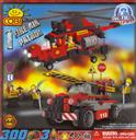 COBI Fire Air Patrol, 300 Piece Set (LEGO® Compatible),COBI