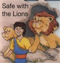 Safe With The Lions (Shaped Board Books for Toddlers),Hazel Scrimshire