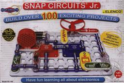 Snap Circuits Jr. 100-in1, SC-100 (Electronic Experiment Kit),Elenco Electronics