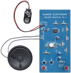 Elenco Solder Practice Kit (Model SP-1A) (Electronic Experiment Kit - Requires Soldering),Elenco Electronics