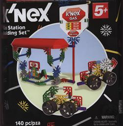 K'Nex Classics Gas Station Building Set (125 pieces) Age 5+,K'Nex Brands