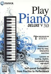 Topics Learning Play Piano Deluxe v3.0 (WIN/ MAC CD-ROM Software),Topics Entertainment