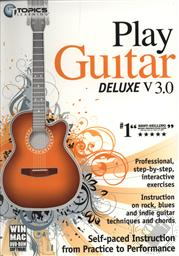 Topics Learning Play Guitar Deluxe v3.0 (WIN/ MAC CD-ROM Software),Topics Entertainment