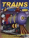 Educational Coloring and Activity Book: Trains,Really Big Coloring Books
