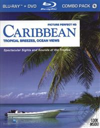 Picture Perfect HD Caribbean: Tropical Breezees, Ocien Views, Spectacular Sights and Sounds of the Tropics (No Narration) (BluRay and DVD),Topics Entertainment