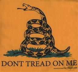 T-Shirt: Don't Tread on Me / Gadsden Short Sleeve (Adult Large / L),Loving Truth Books & Gifts