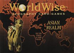 World Wise A Geography Card Game, Asian Edition (Asia Geography Game),Globular Innovations
