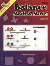 Balance Math & More! Level 1 (Grades 2-5),Robert Femiano