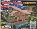 3-D Wooden Puzzle: Water Plane (Wood Craft Construction Kit) 27 Pieces Ages 6 and Up,Puzzled Inc