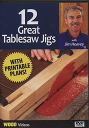 12 Great Table Saw Jigs with Jim Heavey (Wood Videos) Bonus Printable Plans Included,Jim Heavey