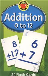 Addition 0 to 12 Flash Cards for Ages 6 and Up (Math Facts Flash Cards),Brighter Child
