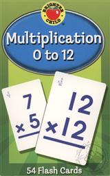 Multiplication 0 to 12 Flash Cards for Ages 8 and Up (Math Facts Flash Cards),Brighter Child