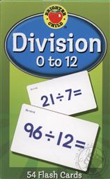 Division 0 to 12 Flash Cards for Ages 8 and Up (Math Facts Flash Cards),Brighter Child
