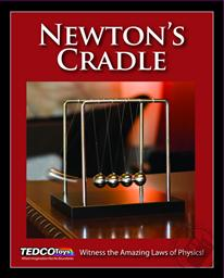 Newton's Cradle: Delight in the Laws of Physics (Ages 14 and Up),Tedco