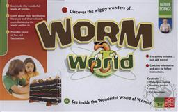 Worm World (Nature Science Kit) Ages 5 and Up,Edu-Toys