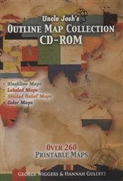 Uncle Josh's Outline Map Collection CD-ROM (Over 260 Printable Maps),Josh Wiggers, Hannah Gullett