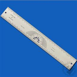 Incra Rules 300 mm Precision Centering Rule (Stainless Steel) (CENT300M),Incra