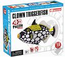 Clown Triggerfish 4D Puzzle with Realistic Detail,4D Master