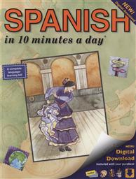 Spanish in 10 Minutes a Day (New Edition with Digital Download),Kristine K. Kershul