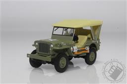 Anniversary Collection Series 12 - 1940 Willys MB Jeep US Army - Jeep 80th Anniversary (AVAILIBLE APR-MAY 2021),Greenlight Collectibles