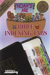 Noah's Ark Rainbow Bible Indexing Tabs for any Size Bible (Bible Reference Tabs),Tabbies